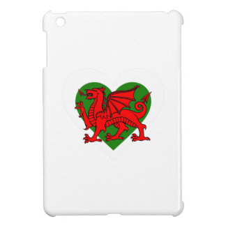 Wales/Welsh flag-inspired Hearts Cover For The iPad Mini