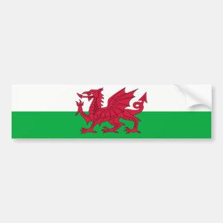 Wales Welsh Flag - United Kingdom Bumper Sticker
