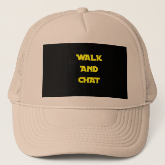 Walk and Chat Hat