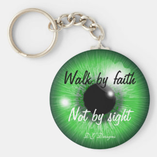 Walk By Faith Key Ring