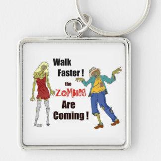 Walk Faster! Keychain
