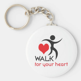 WALK FOR YOUR HEART KEY CHAINS