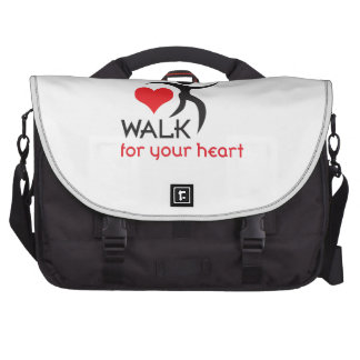WALK FOR YOUR HEART BAG FOR LAPTOP