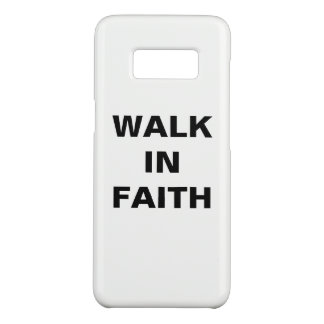 """Walk In Faith"" Samsung Galaxy S8 Case"