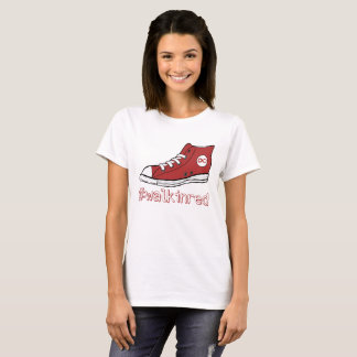 Walk in Red T-Shirt