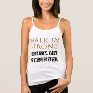 Walk in Strong, Crawl out Stronger Singlet