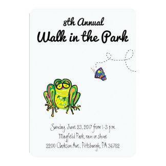 Walk In The Park Invitation