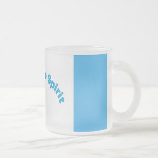 Walk In The Spirit Frosted Glass Coffee Mug