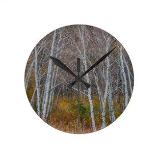 Walk In The Woods Round Clock