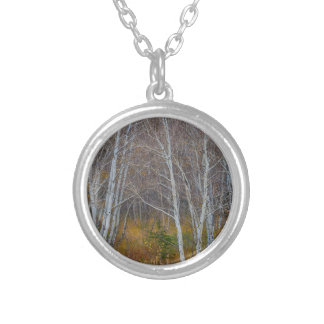 Walk In The Woods Silver Plated Necklace