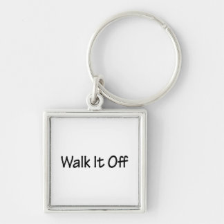 Walk It Off Key Ring