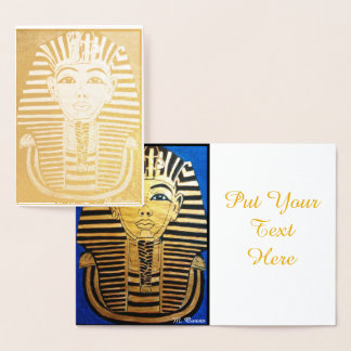 Walk Like An Egyptian Invitation Card