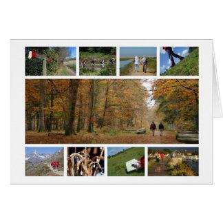 Walk-lover's card