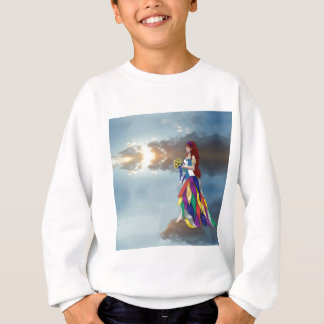 Walk on the clouds sweatshirt