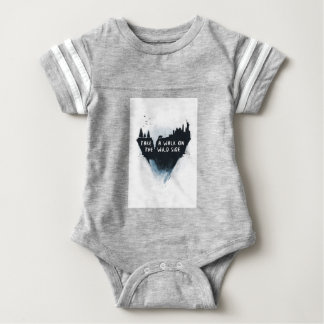 Walk on the wild side baby bodysuit
