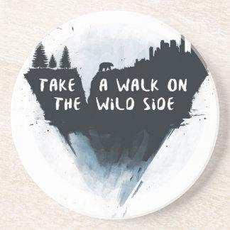 Walk on the wild side coaster