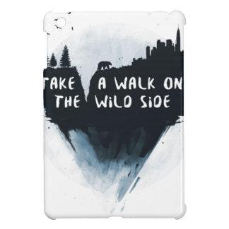 Walk on the wild side iPad mini cover