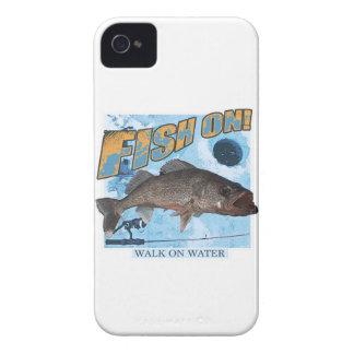 Walk on water walleye iPhone 4 covers