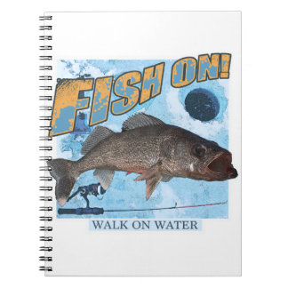 Walk on water walleye notebooks