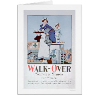 Walk-Over Service Shoes (US00099) Card
