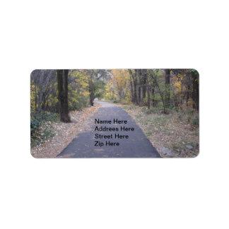 Walk Path Trees Addrees Label