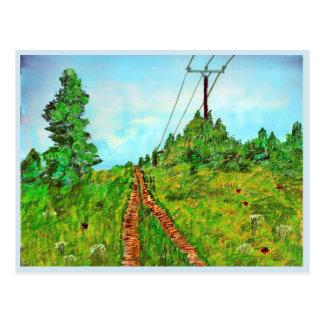 Walk Postcard