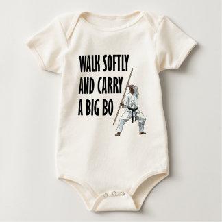 Walk Softly Bo Baby Bodysuit