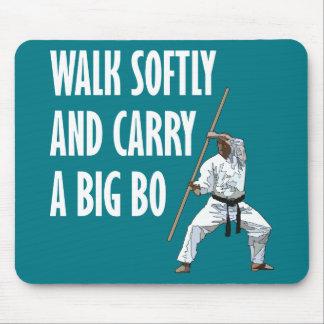 Walk Softly Bo Mouse Pad