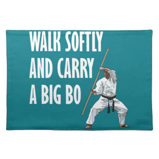 Walk Softly Bo Placemat