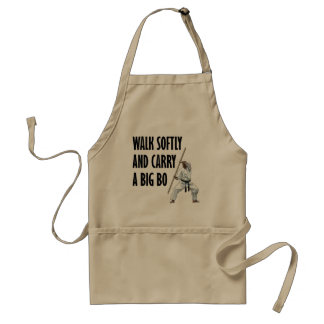 Walk Softly Bo Standard Apron