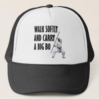 Walk Softly Bo Trucker Hat