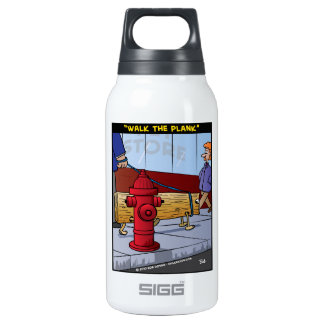 """Walk The Plank"" 0.3L Insulated SIGG Thermos Water Bottle"