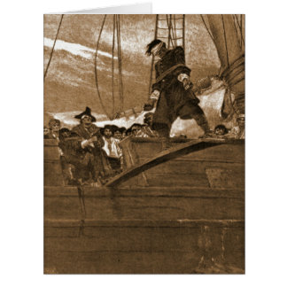 Walk the Plank 1887 Big Greeting Card