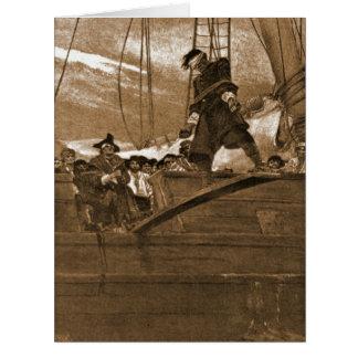 Walk the Plank 1887 Card
