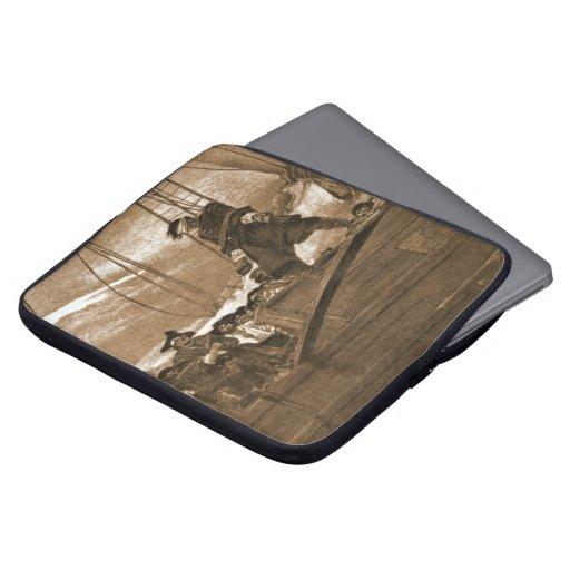 Walk the Plank 1887 Laptop Sleeve