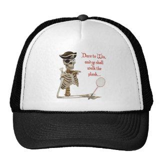 Walk the Plank Badminton Hat