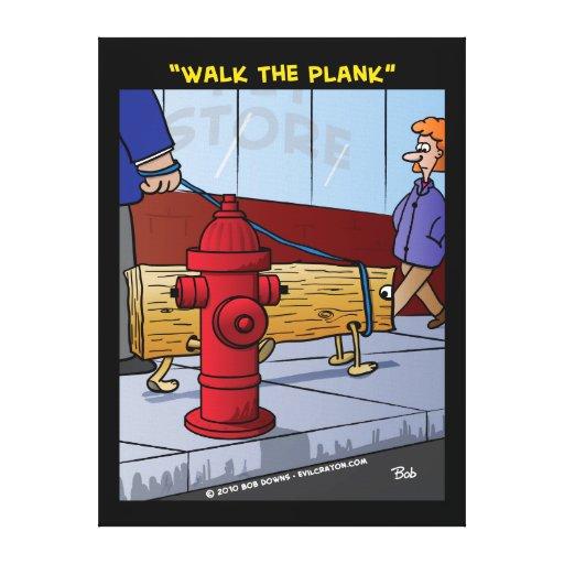 """Walk The Plank"" Gallery Wrap Canvas"