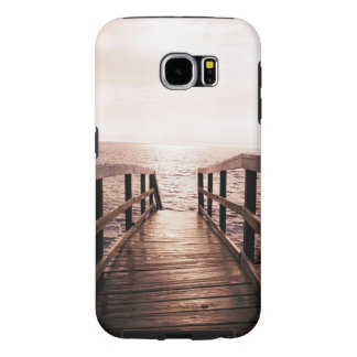 """Walk the Plank"" Galaxy S6 Heavy Duty case"