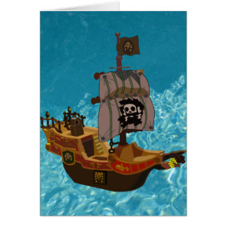 Walk the Plank Note Card