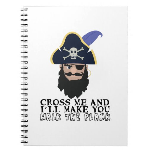 Walk The Plank Note Book