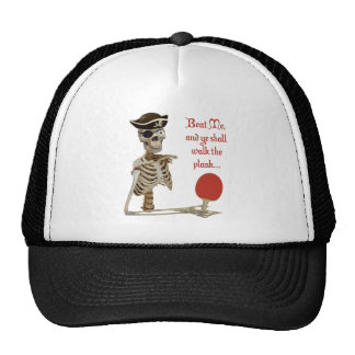 Walk the Plank Ping Pong Hat
