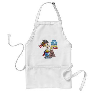 Walk The Plank Pirate Adult Apron
