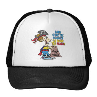 Walk The Plank Pirate Mesh Hats
