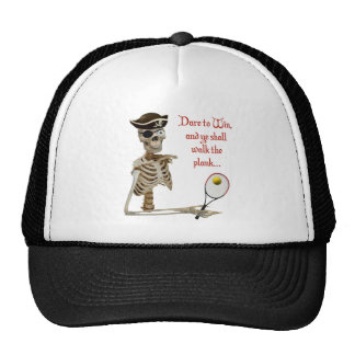 Walk the Plank Pirate Tennis Mesh Hats