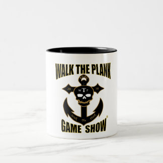Walk The Plank Skull&Anchor Mug