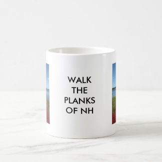 Walk the planks of NH Basic White Mug