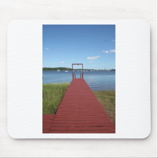 Walk the planks of NH Mousepad