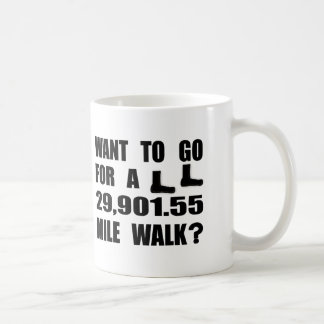 Walk The World Coffee Mug