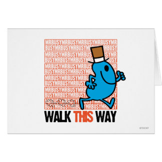 Walk This Way Greeting Cards