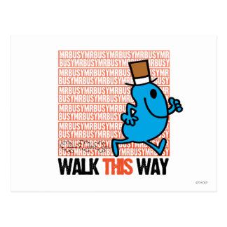 Walk This Way Postcard